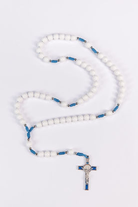 Picture of Plastic rosary with SB cross