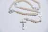 Picture of Pearl wedding rosary - K294