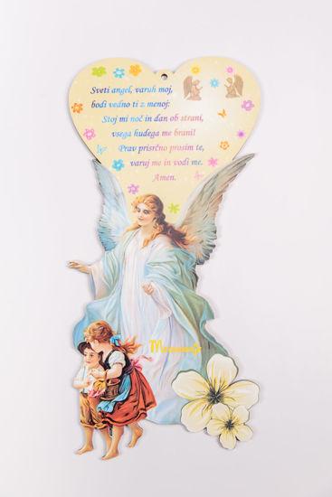Slika Anđele čuvaru mili - ikona na slovenskom jeziku