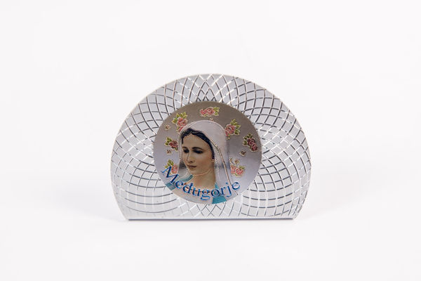 Picture of PVC Međugorje Icon on a stand - oval 1