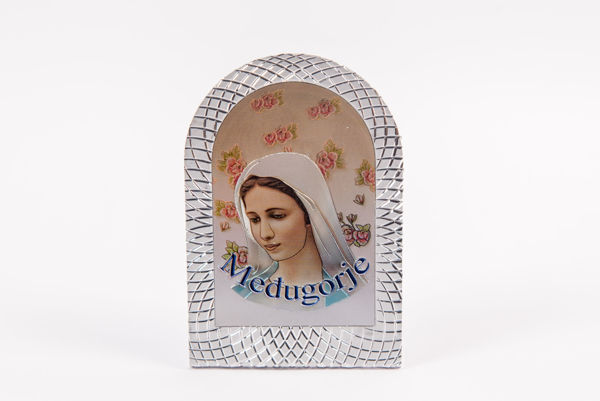Picture of PVC Međugorje Icon on a stand - oval 2