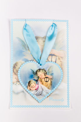 Slika Ikona  sa anđelima u obliku srca DEV 2