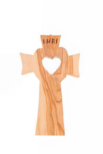 Slika Križ od maslinovog drva U.D. 1
