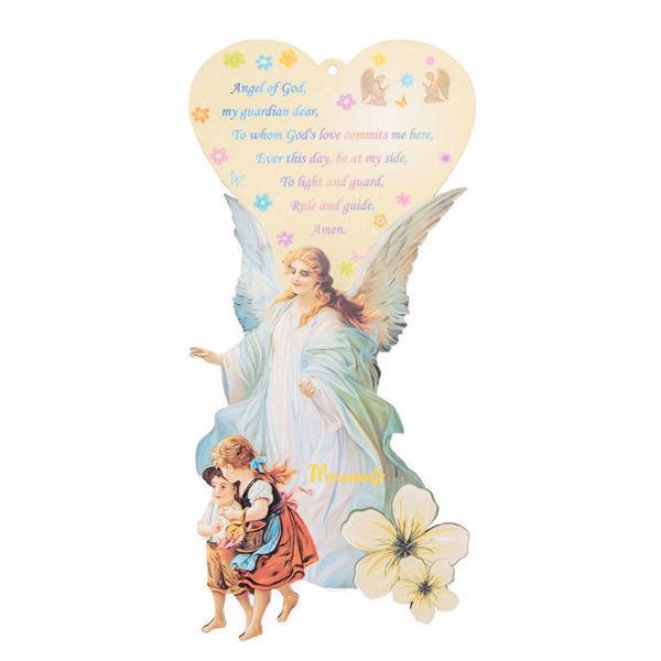 Slika Anđele čuvaru mili - ikona na engleskom jeziku