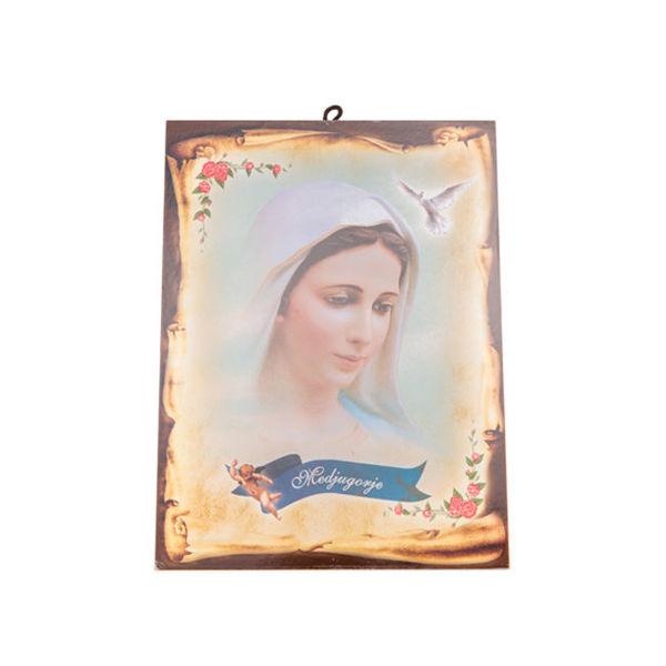 Slika Ikona sa Međugorskim motivima