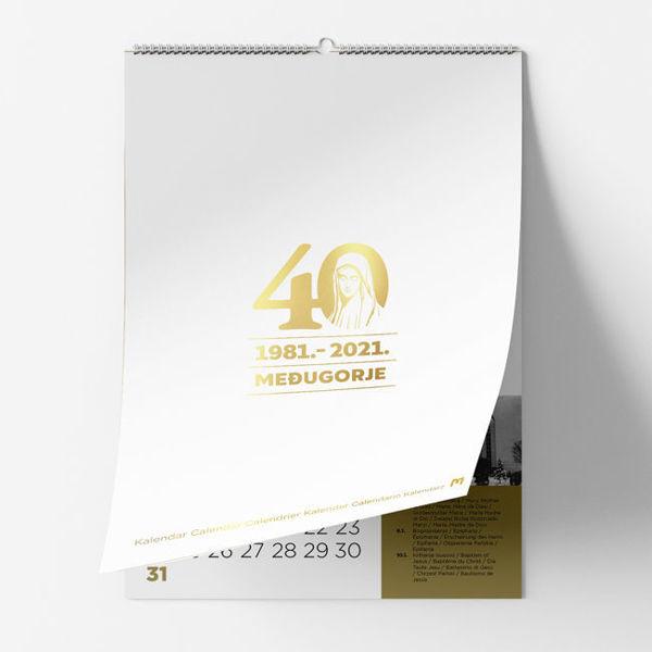 Slika Kalendar 2021   / Međugorje - 1981.-2021.