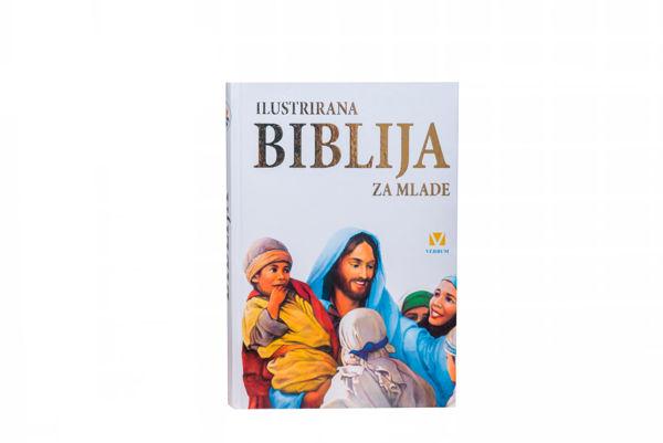 Slika Ilustrirana Biblija za mlade - bijela